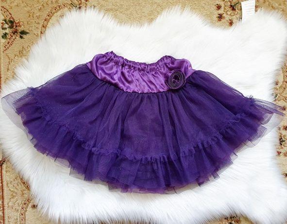 Очень пышная юбка на 6 лет.
