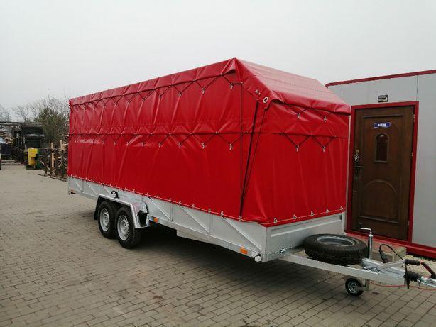 Przyczepa ciężarowa 600x150 dłużyca DMC 750kg-3,5 t mocna spawana rama