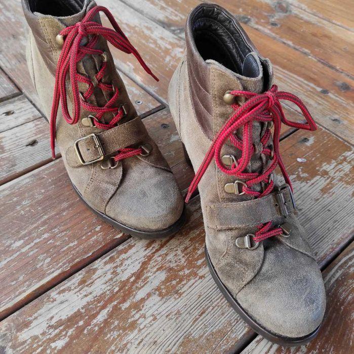 Ботинки Paul Green 38,5 осенние натуральная замша Житомир - изображение 1