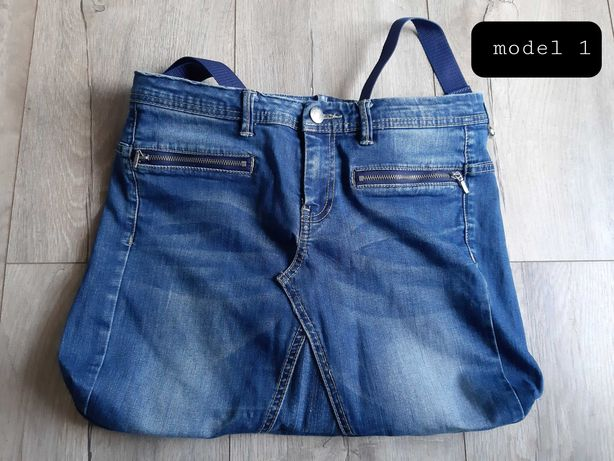 Torby jeans HandMade
