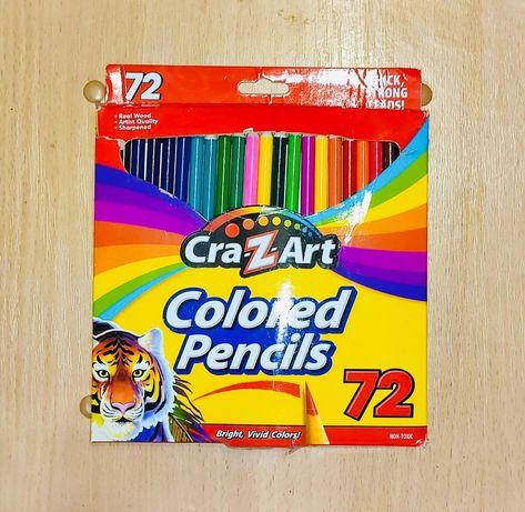 Цветные карандаши Cra-Z-Art, 72шт