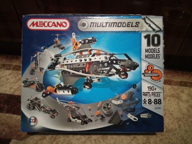 Металлический конструктор Meccano, 190+ деталей