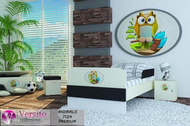 Piękna kolekcja łóżek dla dzieci Zwierzątka,łóżko z materacem, Wysyłka