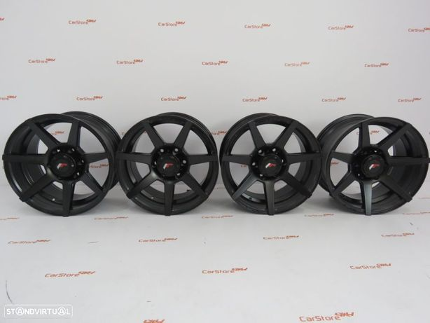 Jantes Japan Racing JRX3 17x8.5 ET20 6x139.7 Matt Black