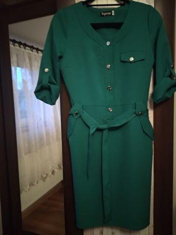 Sukienka S butelkowa zielen