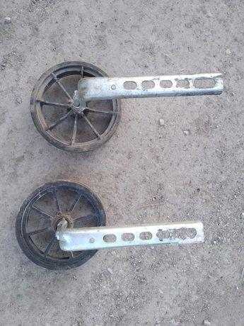Дополнительные, боковые колёса для велосипеда