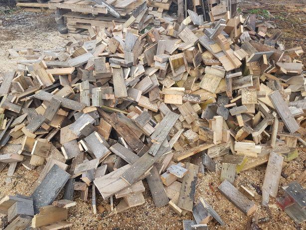 Drewno opał 80 zł popaletowy