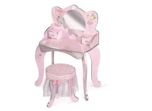 Toucador Criança Princesa Rosa