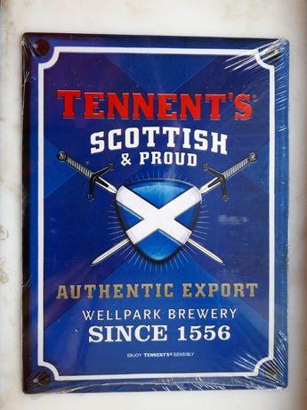 "Лого ""Tennent's Scottish & proud"""