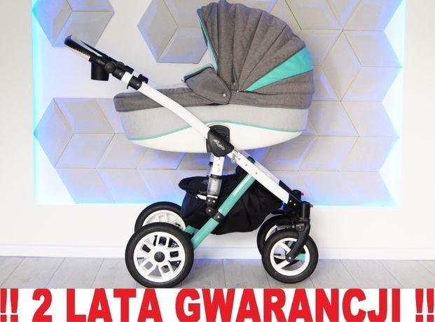 Wózek ADAMEX BARLETTA 3w1 uniwersalny dla chłopca/dziewcz.! WYSYŁKA !!