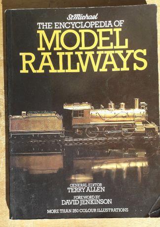 lote de 4 livros sobre modelismo ferroviário