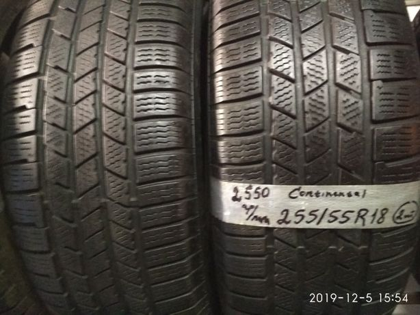 Продам 255/55-18 пару зимових шин.