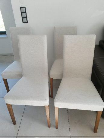Zestaw krzeseł Latina włoskiej firmy Calligaris