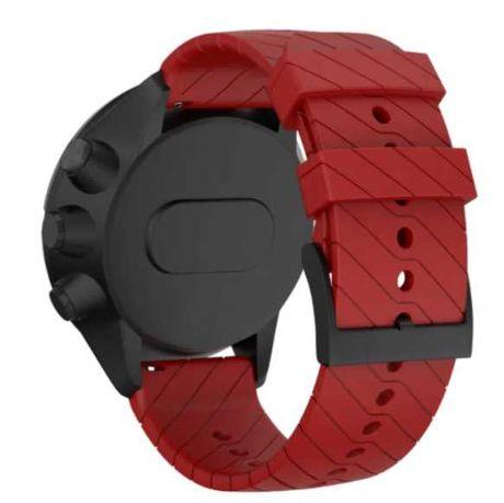 Pasek do Suunto 7 / 9 / 9 BARO / Spartan Wrist RED