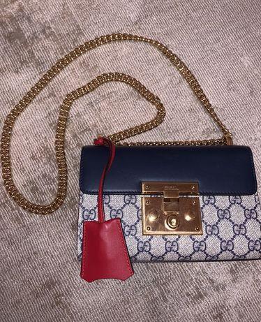 Gucci сумка Padlock GG Supreme Small Shoulder Bag Original