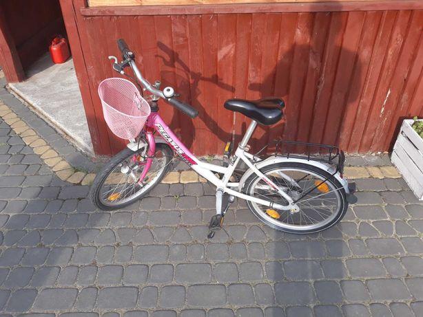 Sprzedam rower firmy PEGASUS  20cal dla dziewczynki stan bardzo dobry