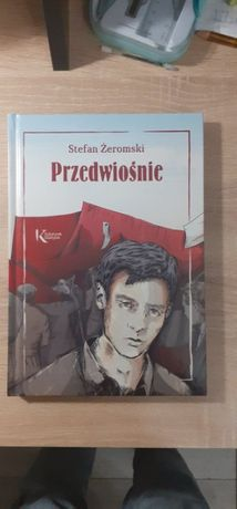 """S.Żeromski""""Przedwiośnie""""z rysunkami i przypisami stan: nowy,nieczytana"""