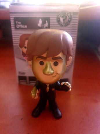 The Office Figurka Golden Face Jim Halpert  Funko Mystery Minis Unikat