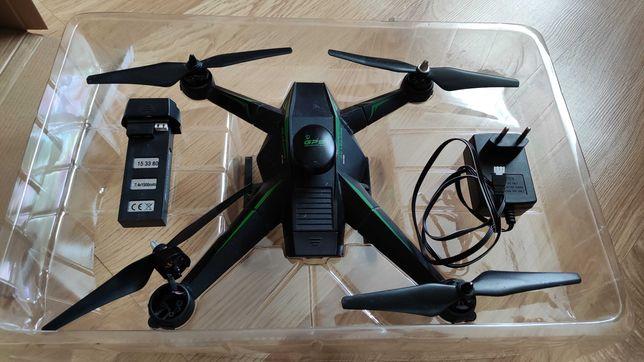 Dron RC5 RC136 uszkodzony cały zestaw GPS
