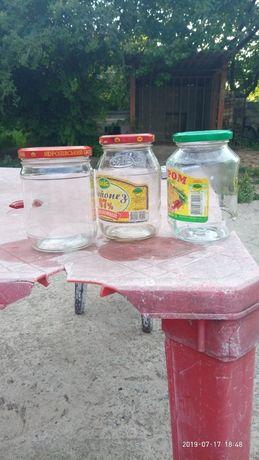 банки с закруткой пол.литровые