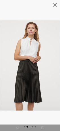 Spódnica tiulowa firmy H&m, rozmiar 36, czarna, plisowana