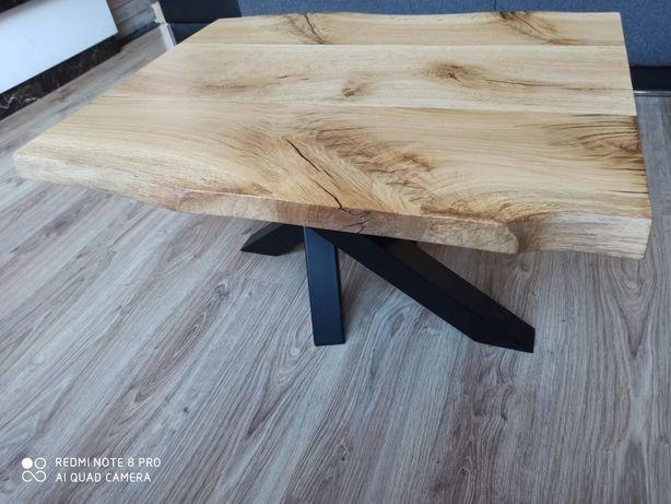 Dębowy stolik kawowy Handmade