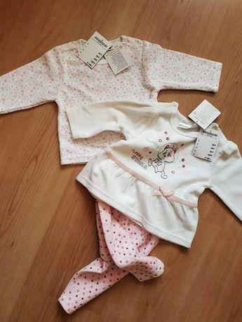 Bluza spodnie mini zestaw dziewczęcy