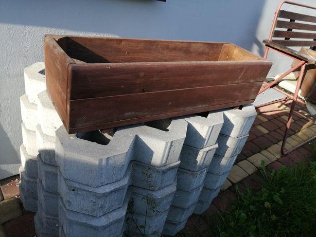 Donice drewniane 2 sztuki