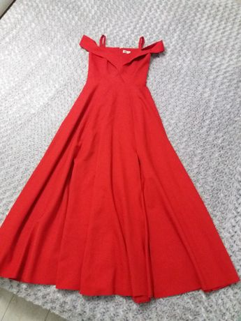 piękna elegancka sukienka sylwestra, bal