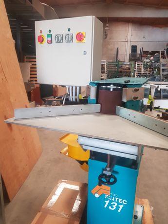 Maquina de lixar alumínio inox metalomecanica maquinas nova