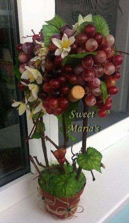 Топиарий виноград дерево счастья топіарій