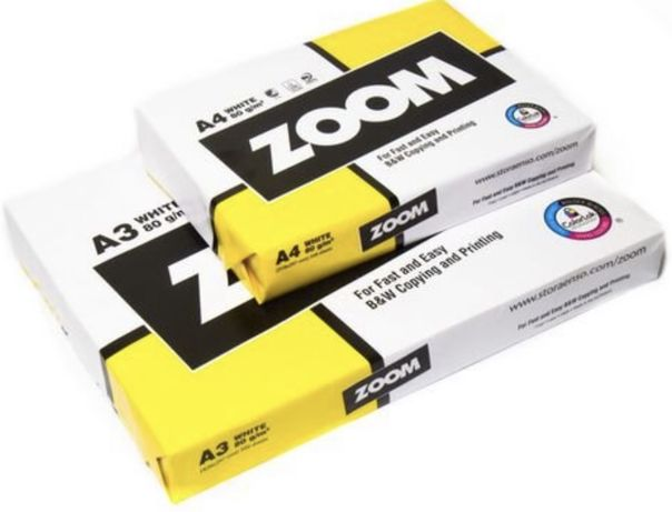 Бумага офисная, бумага для принтера А4, zoom