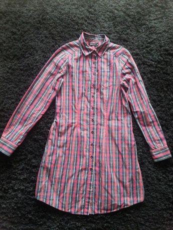 Koszula Sukienka w kratkę Ginatricot