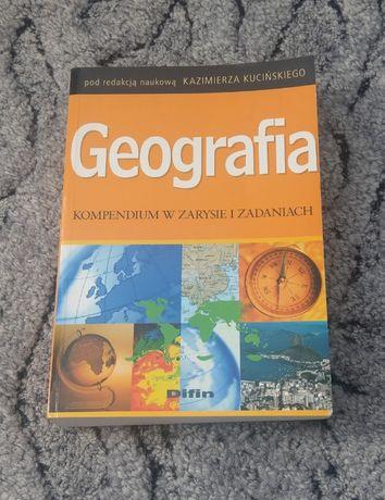 Geografia Kompendium w zarysie i zadaniach Kazimierz Kuciński Difin