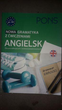 Nowa gramatyka z ćwiczeniami angielska Pons - angielski