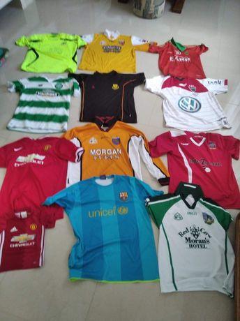 Koszulki piłkarskie, klubowe , sportowe ,12 sztuk, Okazja!