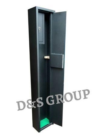 Оружейный сейф, шкаф высотой 1400 мм под 1 ружьё с трейзером!