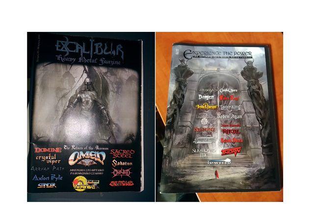 Heavy Metal - revistas e fanzines