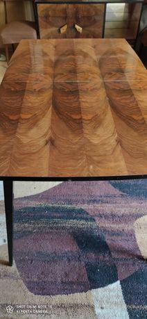 Stół drewniany, rozkładany