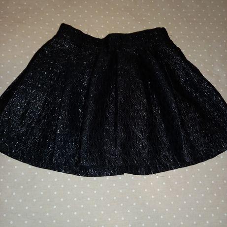 Mini saia com brilhos