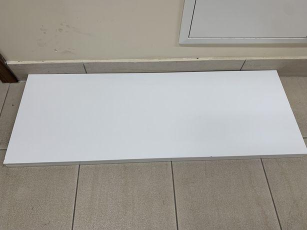 Półka Pax biała 100x35 - cztery sztuki