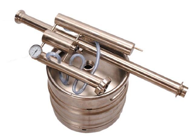 APARATURA do bimbru zimne palce DESTYLATOR na palnik gazowy keg 30L
