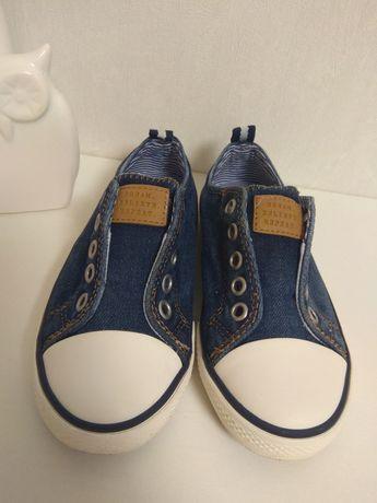 Кеды next  джинсовые макасины 28 и 29 размер