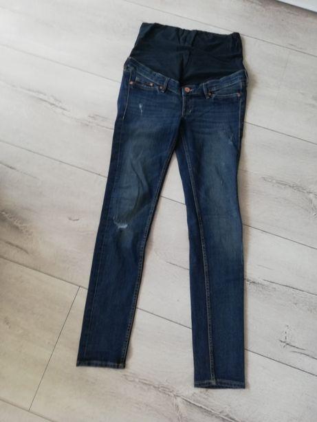 Spodnie ciążowe jeansy rozm. 36