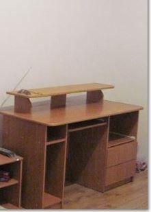 Biurko, wygodne duże z nadstawką zdejmowalną