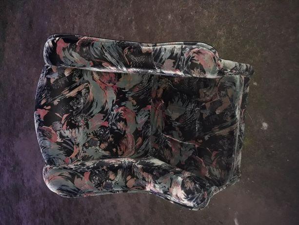 Fotel uszak vintage prl
