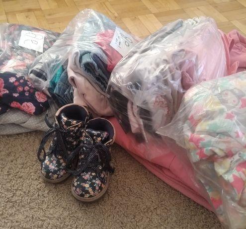 Ubranka dla dziewczynki 80-92