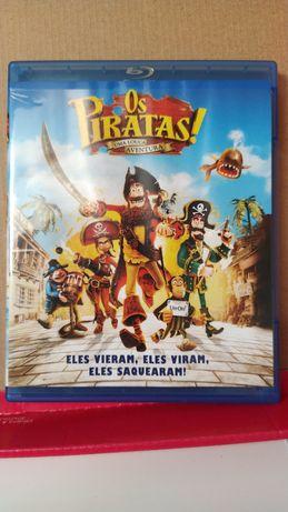 Filme Animação Os Piratas Blu-ray