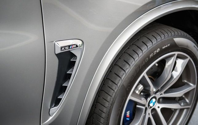 Накладки на крылья жабры BMW X5 M F15 F85 M Performance 2015 2016