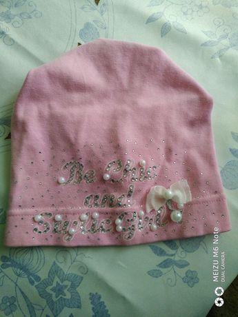 Дитяча шапочка для дівчаток